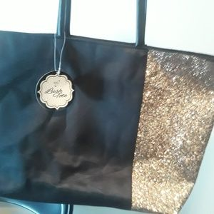 Lush Bags - Tote black bag